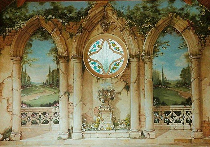 Classical theme murals chris westall murals for Classical mural